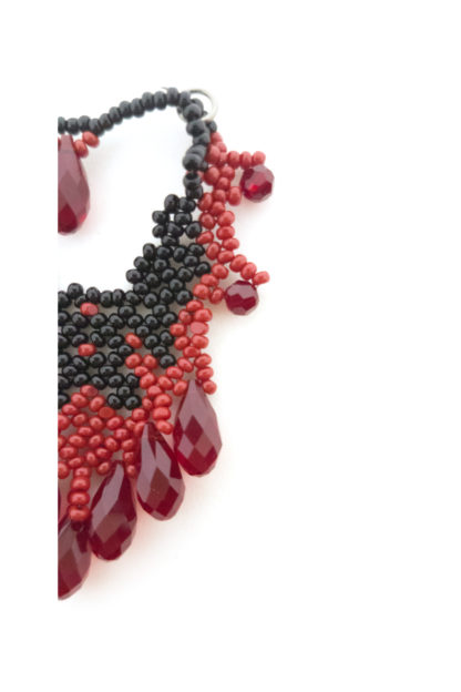 Lucy Earrings Blood-Drenched Lace Collection BDLELUC