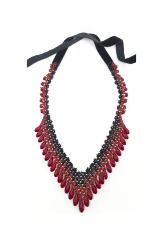 Lucy Necklace Blood-Drenched Lace Collection BDLNLUC