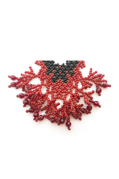 Mina Earrings detail Blood-Drenched Lace Collection BDLEMIN
