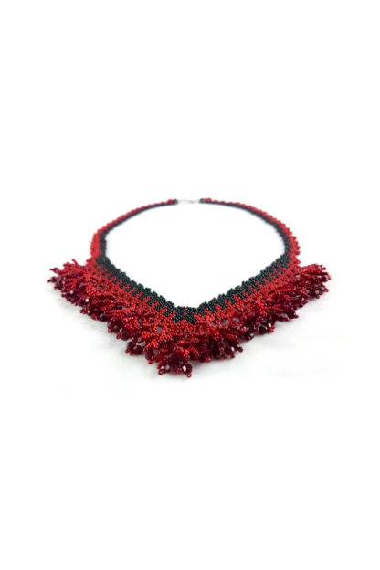 Mina Necklace | Blood-Drenched Lace Collection by ChrisCrafting