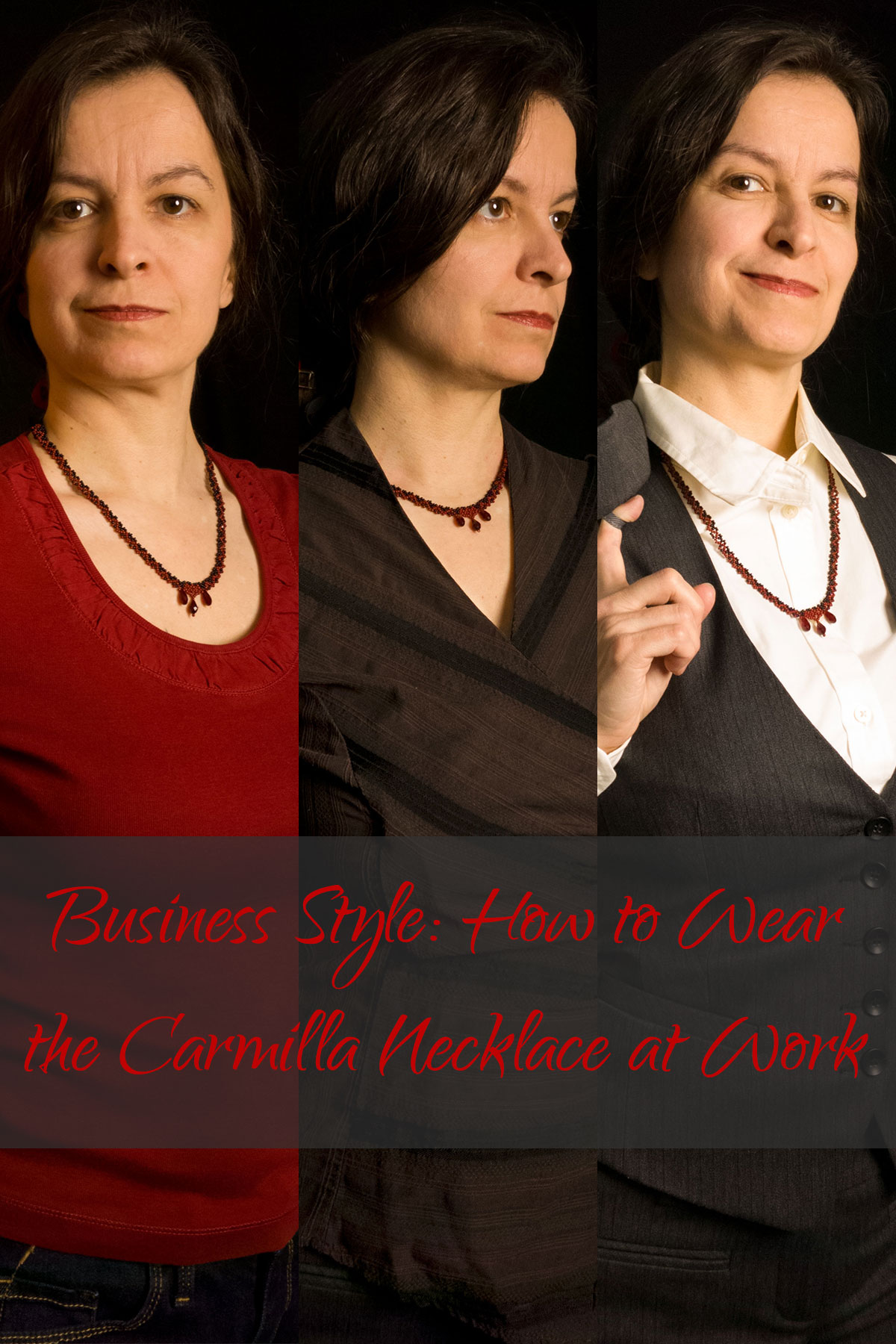 Business Style: How to Wear the Carmilla Necklace at Work