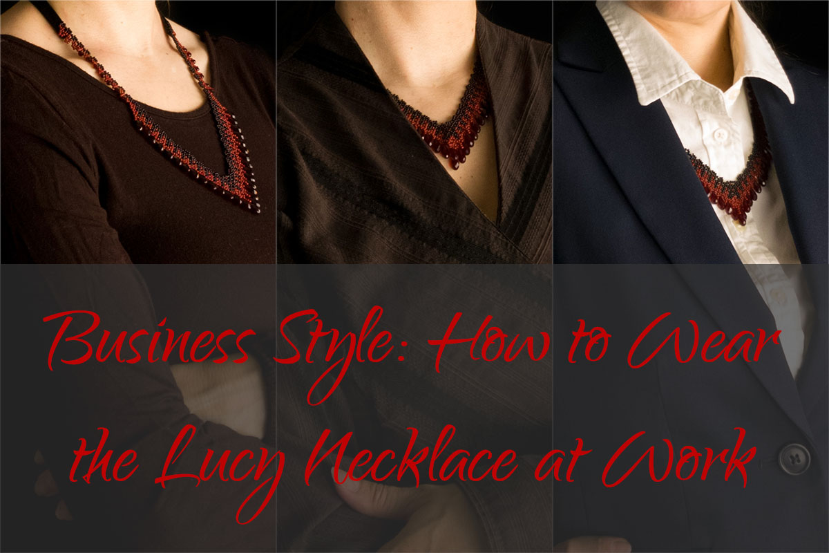 Business Style: How to Wear the Lucy Necklace at Work