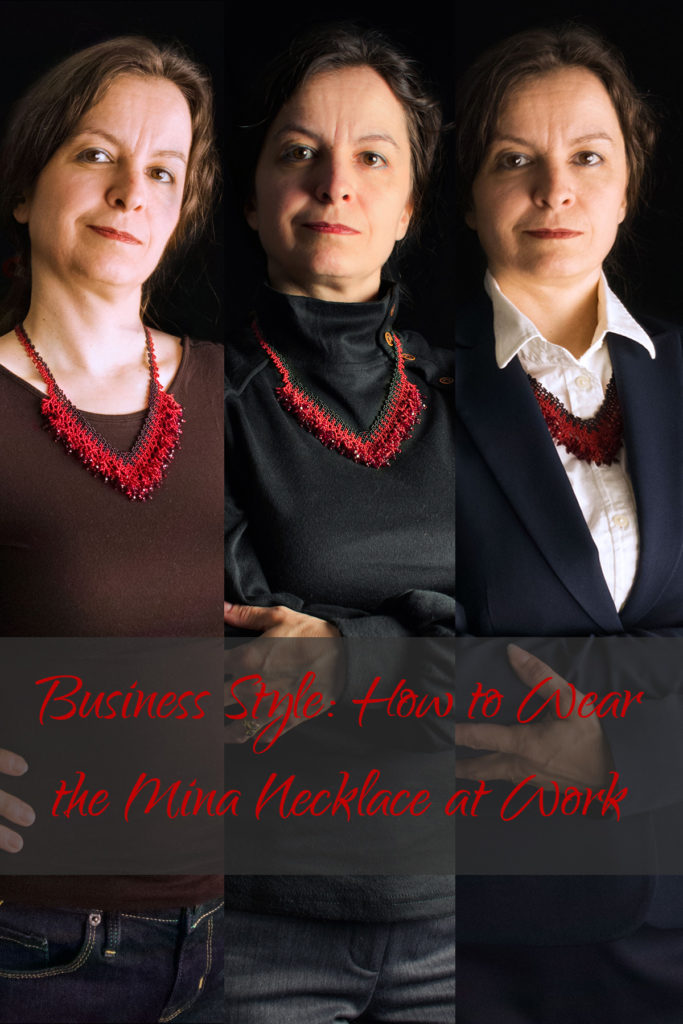 Business Style: How to Wear the Mina Necklace at Work